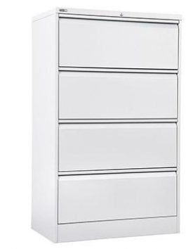 Lateral Filing Cabinet 4 Drawer