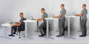 Health Benefits & Advantages of using a Standing Desk