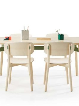 Okidoki Table Stool and Chair Collection