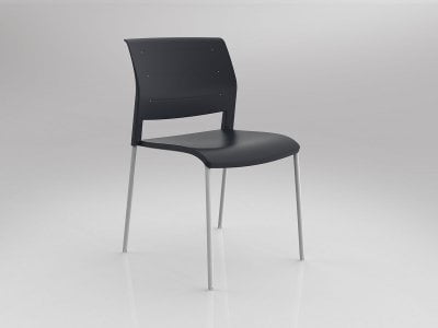 Game 4 Leg Chair with Upholstered Seat